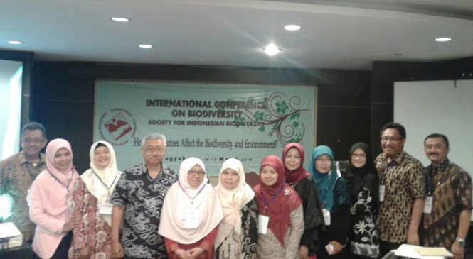 "Peran Aktif Peneliti Balitjestro dalam ""International Conference on Biodiversity Society for Indonesian Biodiversity (SIB)"""